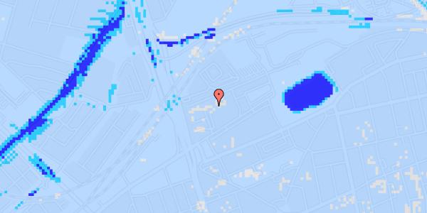 Ekstrem regn på Hans Knudsens Plads 3D, st.