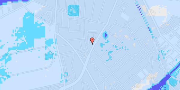 Ekstrem regn på Peter Rørdams Vej 6, 1. mf