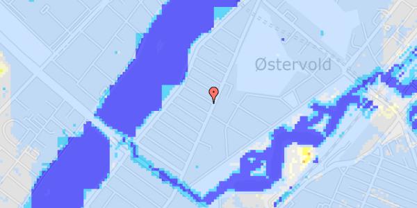 Ekstrem regn på Høyensgade 1, 1.