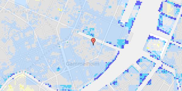 Ekstrem regn på Nyhavn 12A, 3. th