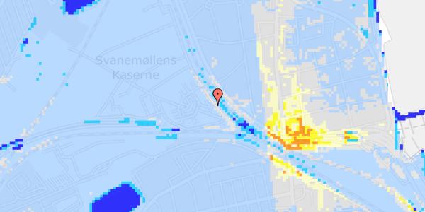 Ekstrem regn på Svanemøllens Kaserne 5, 2. 212
