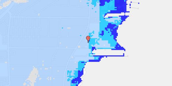 Ekstrem regn på Hvidovre Strandvej 23B