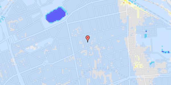 Ekstrem regn på Drejøgade 38, 1. tv
