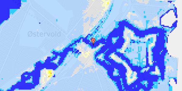 Ekstrem regn på Oslo Plads 2C, 5.