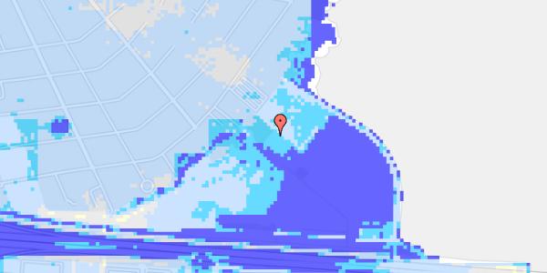 Ekstrem regn på Hvidovre Strandvej 99B