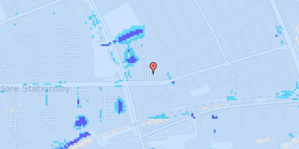 Ekstrem regn på Mellemvangsvej 2, 1. tv