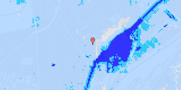 Ekstrem regn på Bispebjerg Bakke 6