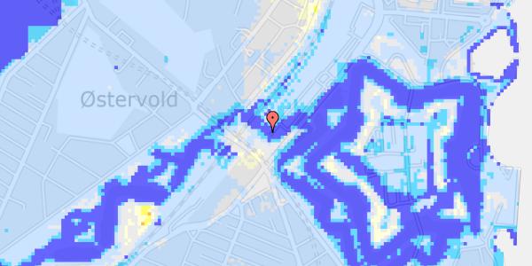 Ekstrem regn på Oslo Plads 2C, 4.