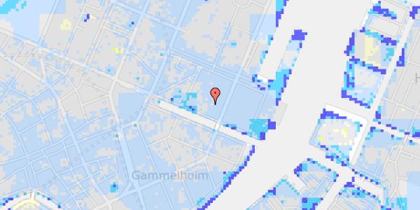 Ekstrem regn på Nyhavn 31H
