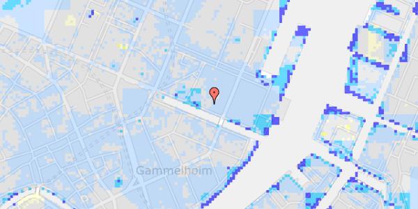 Ekstrem regn på Nyhavn 37A, 2.