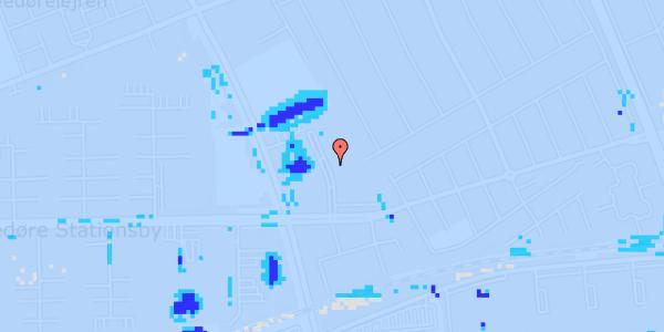 Ekstrem regn på Mellemvangsvej 58, 1. th