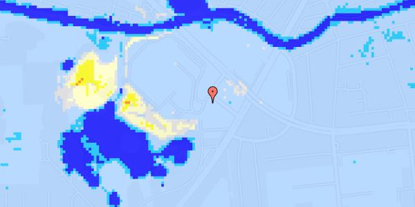Ekstrem regn på Ejby Mosevej 208