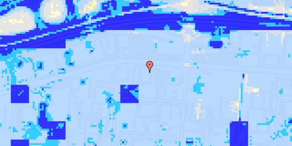 Ekstrem regn på Stamholmen 140A