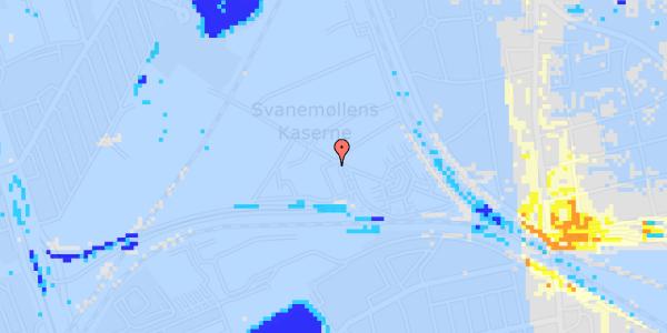 Ekstrem regn på Svanemøllens Kaserne 99