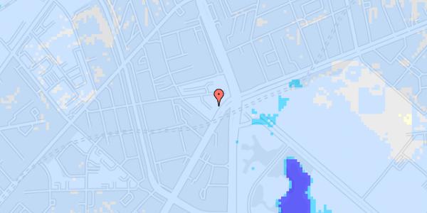 Ekstrem regn på Jagtvej 169B, kl.