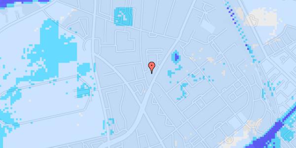 Ekstrem regn på Peter Rørdams Vej 4, 1. mf