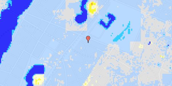 Ekstrem regn på Rosenborggade 15, 1.