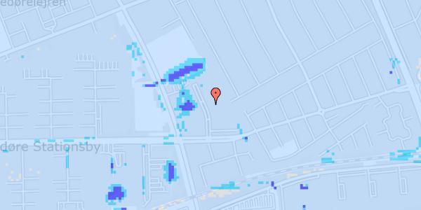 Ekstrem regn på Mellemvangsvej 60, 1. tv