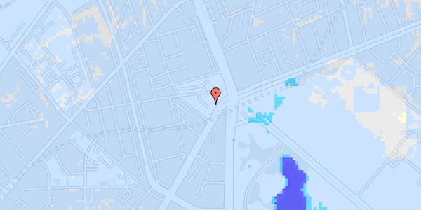 Ekstrem regn på Jagtvej 169B, 3. th