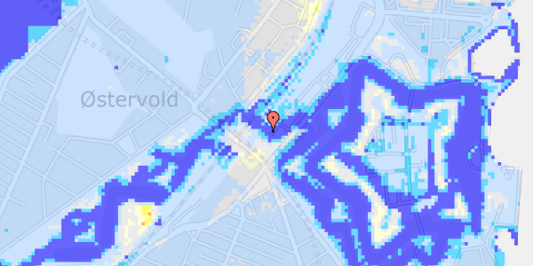 Ekstrem regn på Oslo Plads 2C, 1.