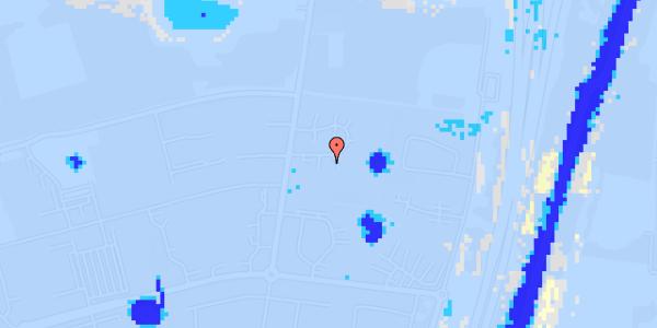 Ekstrem regn på Stisager 40