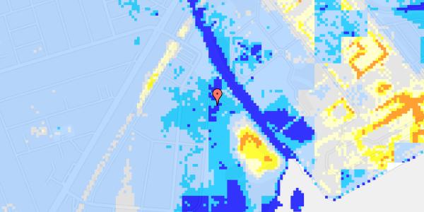Ekstrem regn på Nordre Kystagervej 3
