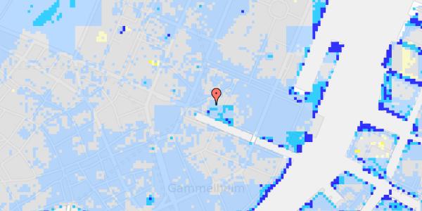 Ekstrem regn på Nyhavn 11B, 1. 2