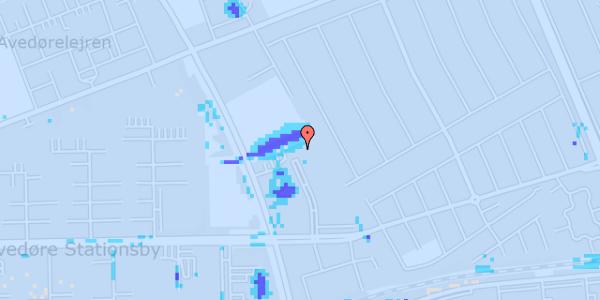 Ekstrem regn på Mellemvangsvej 114, 1. tv