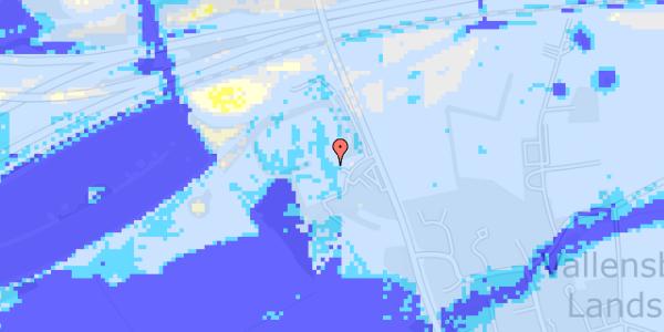 Ekstrem regn på Vejlegårdsvej 125