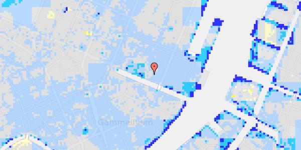 Ekstrem regn på Nyhavn 37A, 1.