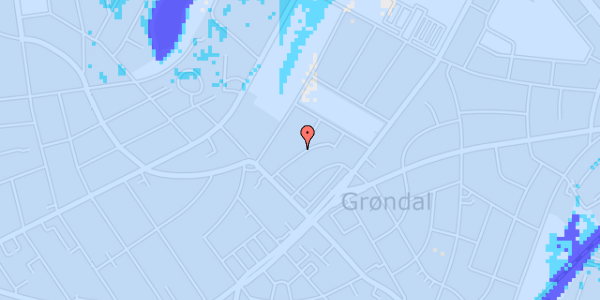 Ekstrem regn på Grysgårdsvej 11