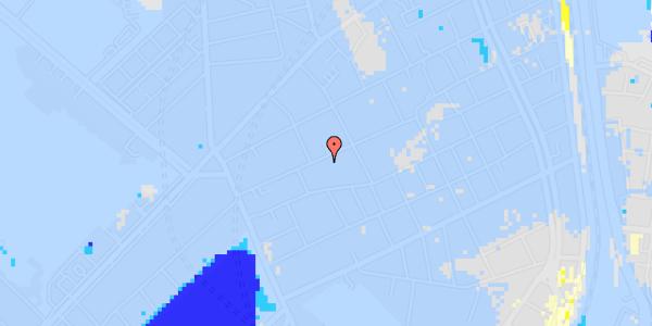 Ekstrem regn på Rosenvængets Allé 20A, 5. mf
