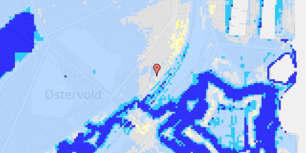 Ekstrem regn på Trondhjems Plads 8