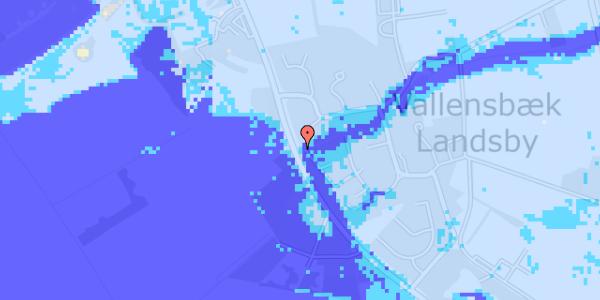 Ekstrem regn på Vejlegårdsvej 112