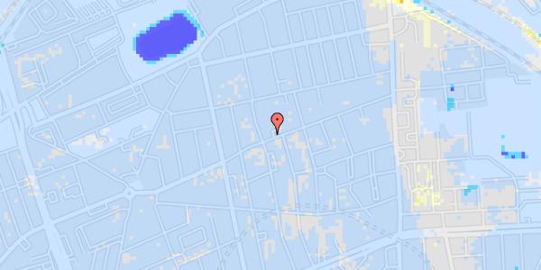 Ekstrem regn på Nygårdsvej 34, 1. 1