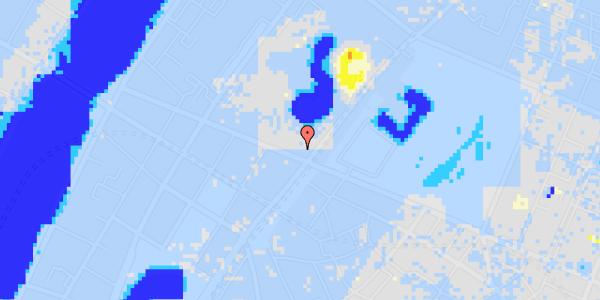 Ekstrem regn på Gothersgade 128
