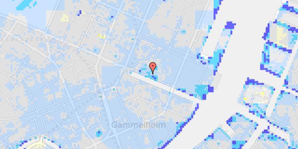 Ekstrem regn på Nyhavn 19, kl.