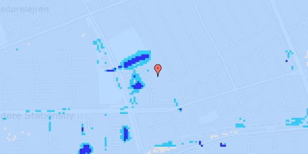 Ekstrem regn på Mellemvangsvej 78