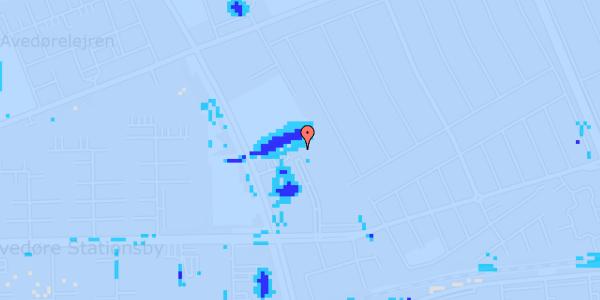 Ekstrem regn på Mellemvangsvej 116, 1. th