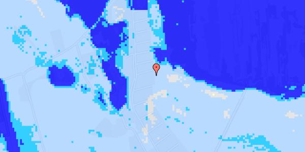 Ekstrem regn på Solager 64