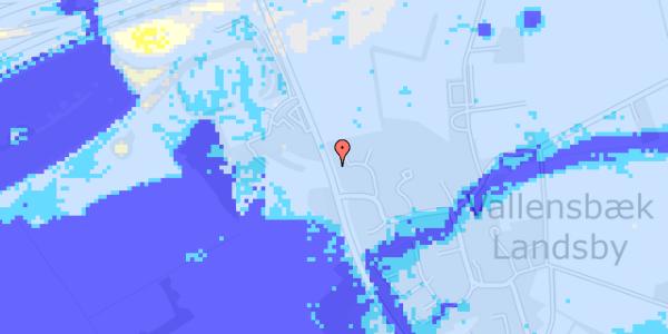 Ekstrem regn på Vejlegårdsvej 116
