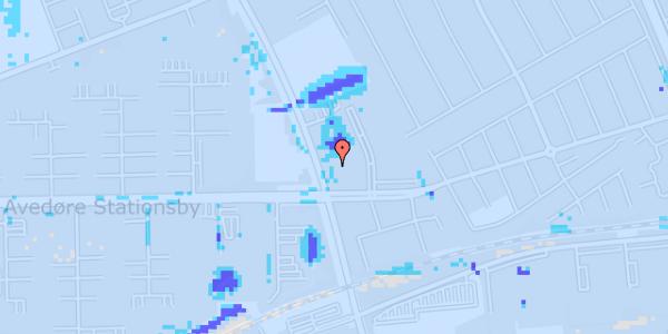 Ekstrem regn på Mellemvangsvej 31, 1. tv