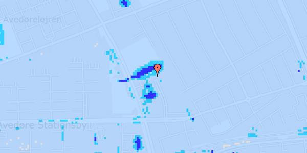 Ekstrem regn på Mellemvangsvej 120, 1. tv