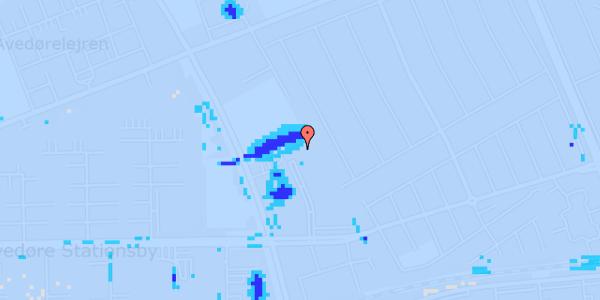Ekstrem regn på Mellemvangsvej 112, 1. tv