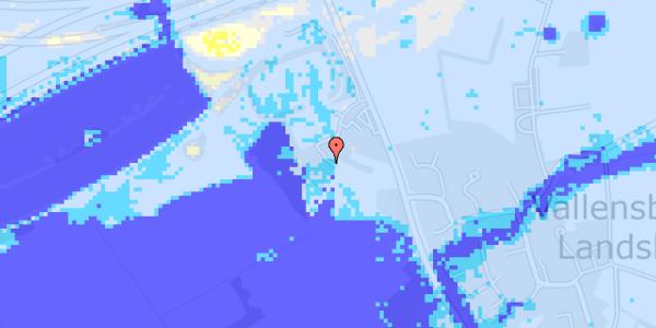 Ekstrem regn på Vejlegårdsvej 125C