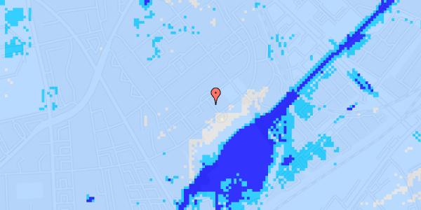 Ekstrem regn på Bispebjerg Bakke 23, 3.