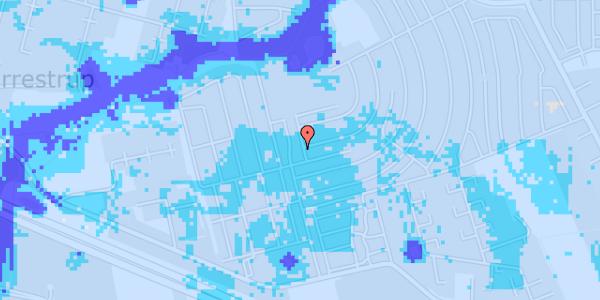 Ekstrem regn på Dührings Plads 2B