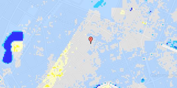 Ekstrem regn på Købmagergade 44, 2.