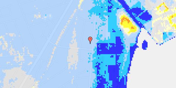 Ekstrem regn på I C Lembrechts Alle 29A