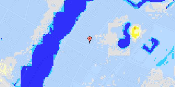 Ekstrem regn på Gothersgade 148, 1.